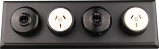 Black Heritage Light Switches