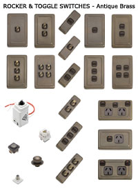 Traditional Hardware Light Switches