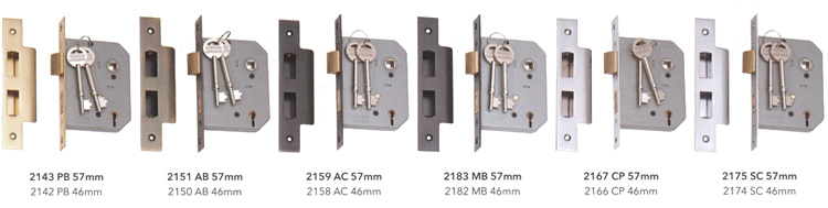 This Style Of Lock Is Predominately Used For External Doors Each Comes With Two Keys Multiple Locks Are Available KEYED Alike